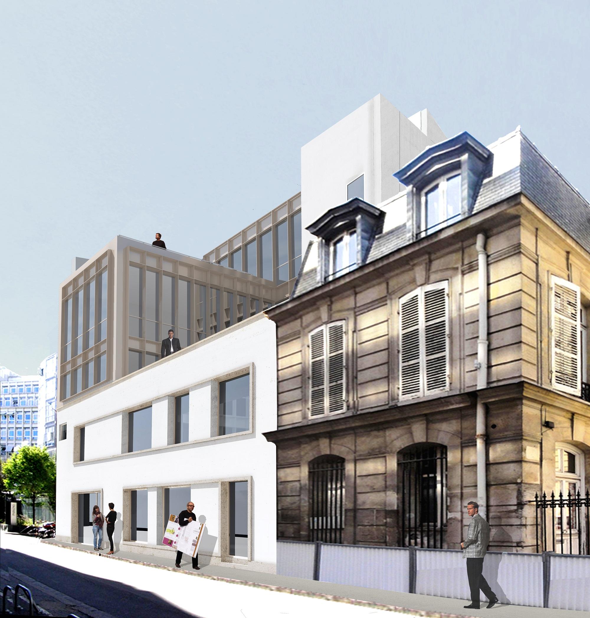 B-2012-35 Conbstruction immeuble de bureaux - Paris (75) - PERS PROJET_1 - p