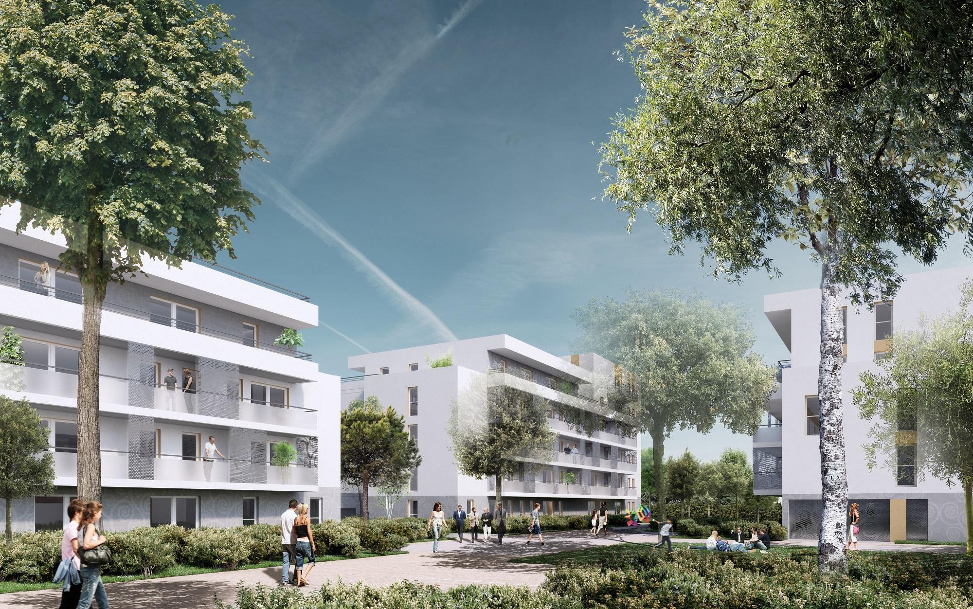 L-2017-019 Construction de 168 logements - BOUYGUES IMMOBILIER - Parc2Cé - Angers (49) ©Rolland & Associés1-petite