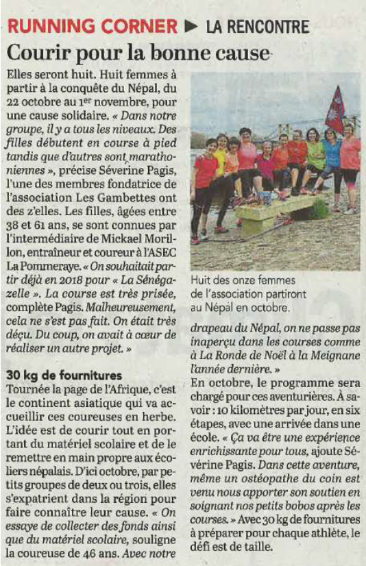Article CO - Les Gambettes
