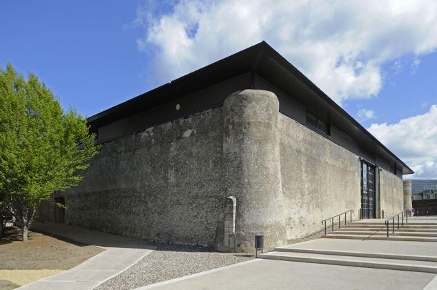 bauge -centre culturelle rené d'Anjou-entree 1