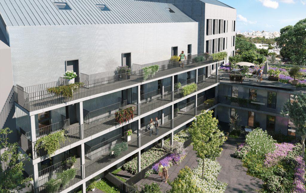 Ab-ingenierie- bureau-etude-fluides-Perspective-Coeur-dIlot-Angers-Ateliers-